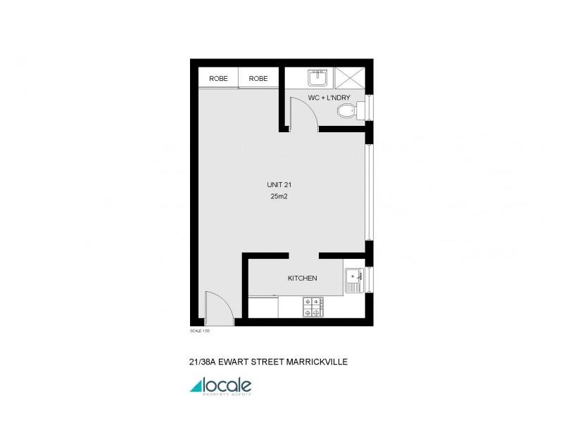 38a Ewart Street, Dulwich Hill NSW 2203 Floorplan
