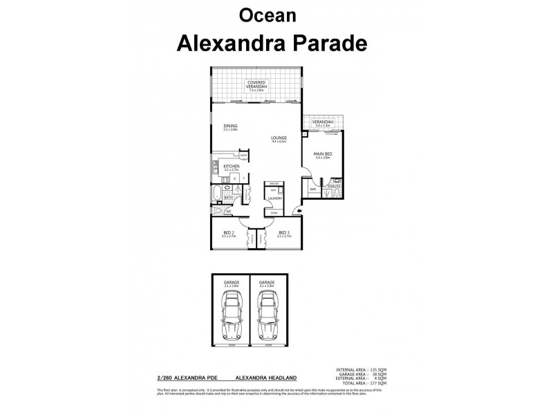 2/260 Alexandra Parade (Bannow), Alexandra Headland QLD 4572