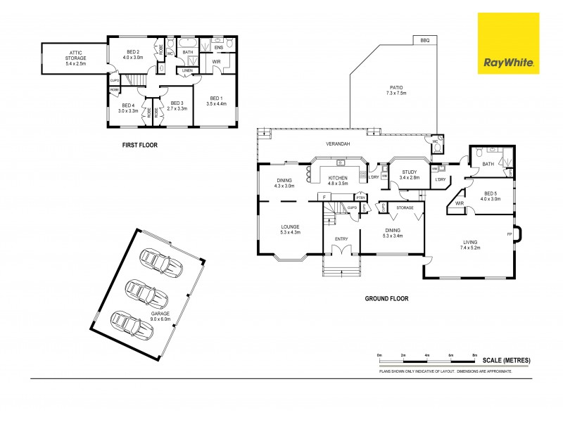 Burpengary QLD 4505 Floorplan