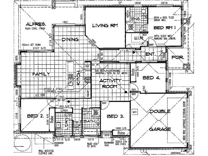 36 Brigid Boulevard, Augustine Heights QLD 4300 Floorplan