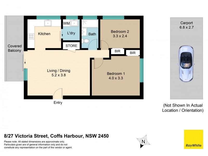 8/27 Victoria Street, Coffs Harbour NSW 2450 Floorplan