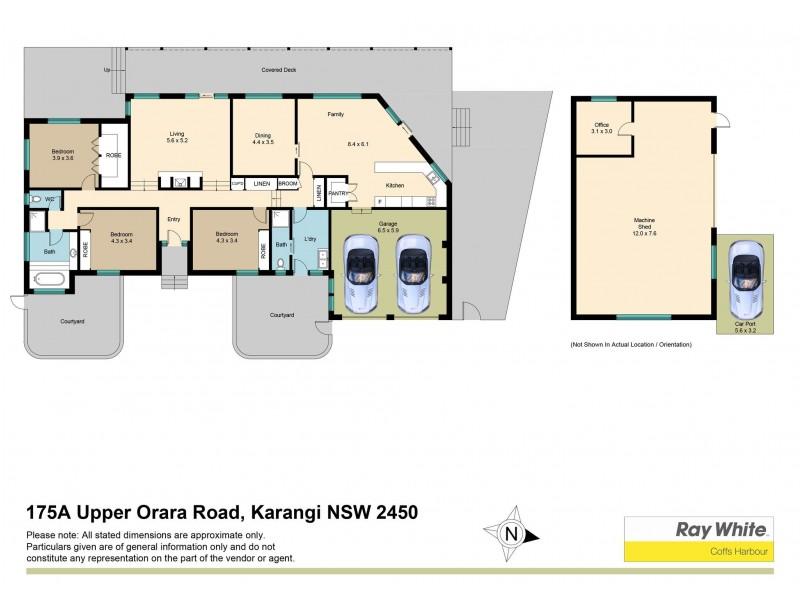175a Upper Orara Road, Karangi NSW 2450 Floorplan