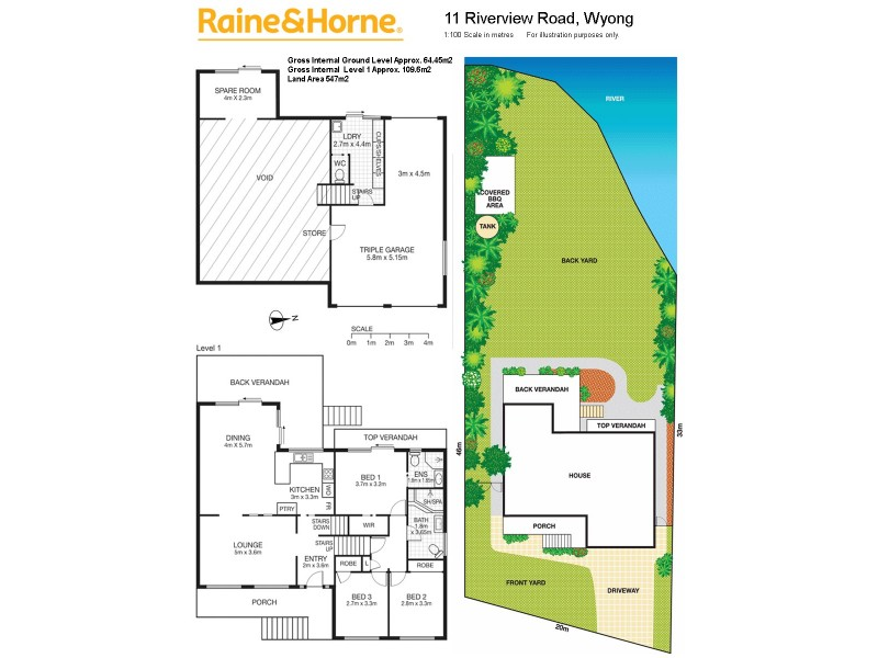 11 Riverview Drive, Wyong NSW 2259 Floorplan