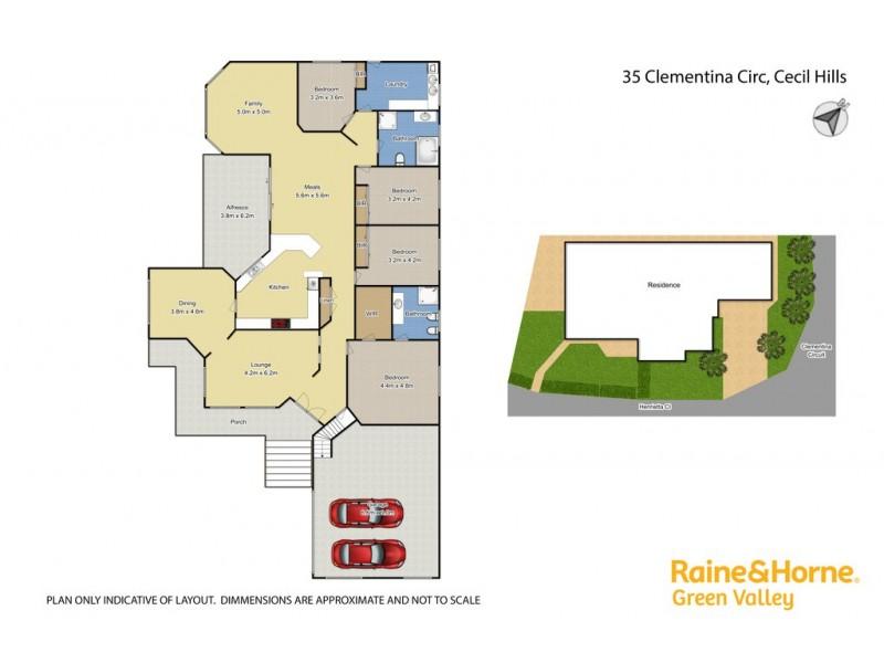 35 Clementina Circuit, Cecil Hills NSW 2171 Floorplan