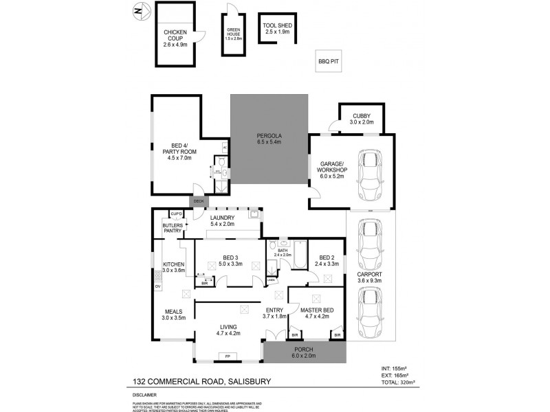 132 Commercial Road, Salisbury SA 5108 Floorplan