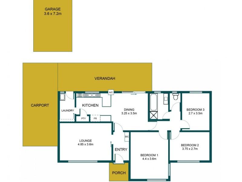 20 Latitude Road, Salisbury North SA 5108 Floorplan