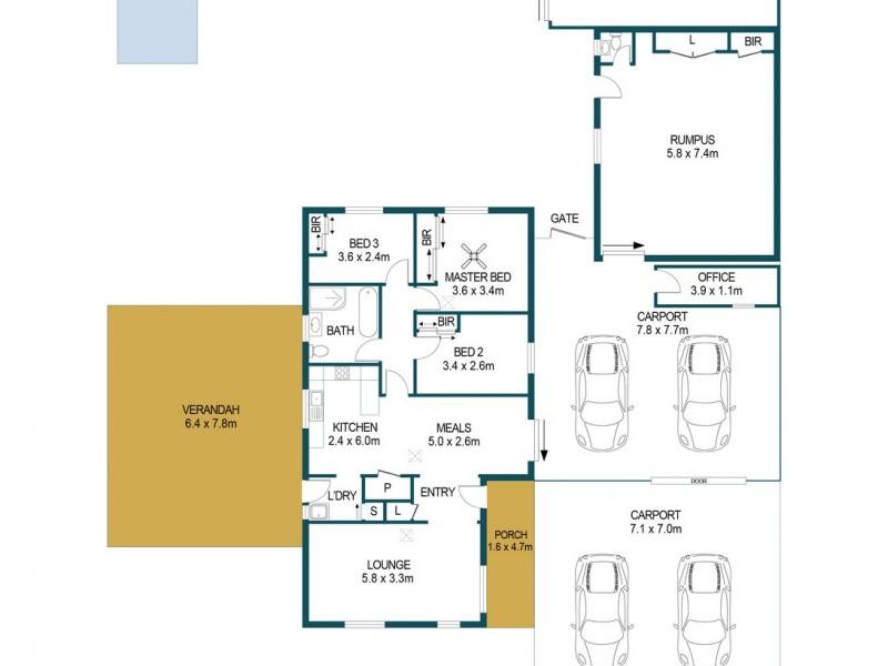 6 Jenkins Drive, Salisbury Park SA 5109 Floorplan