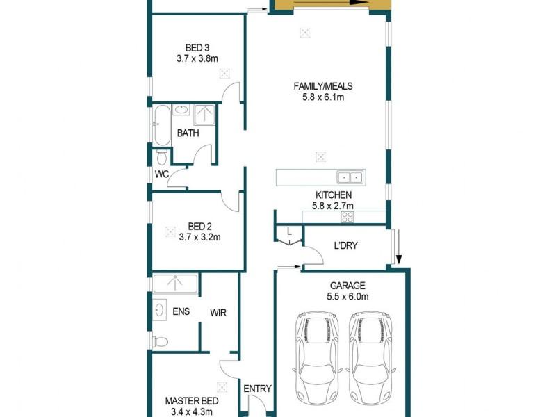 12B Murray Street, Salisbury SA 5108 Floorplan