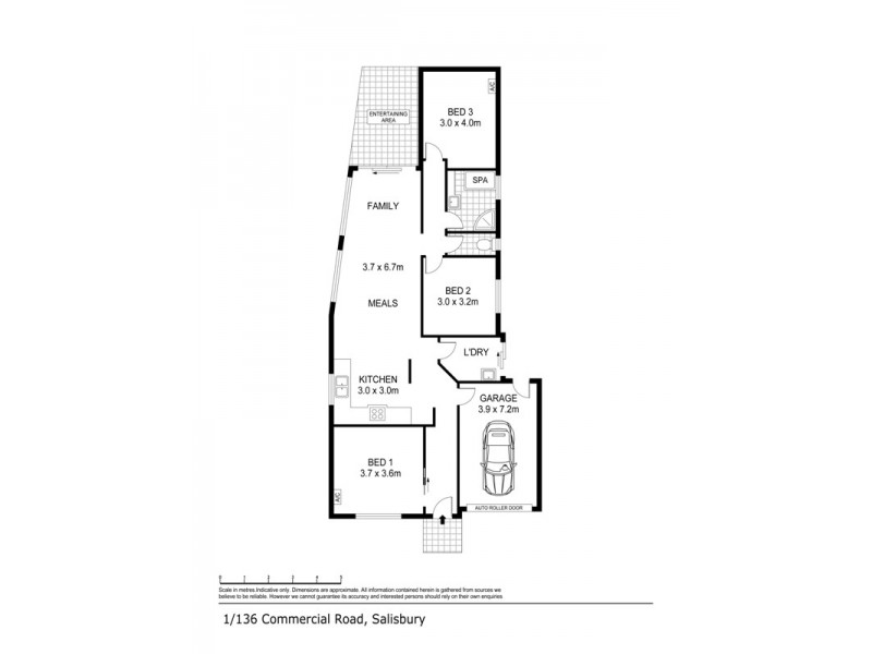 136 Commercial Road, Salisbury SA 5108 Floorplan