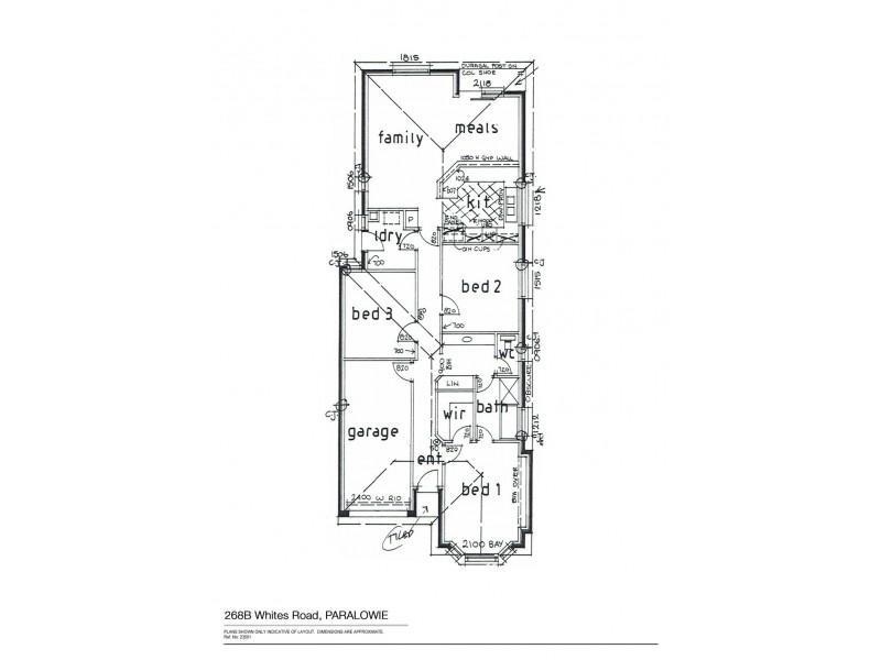 268B Whites Road, Paralowie SA 5108 Floorplan