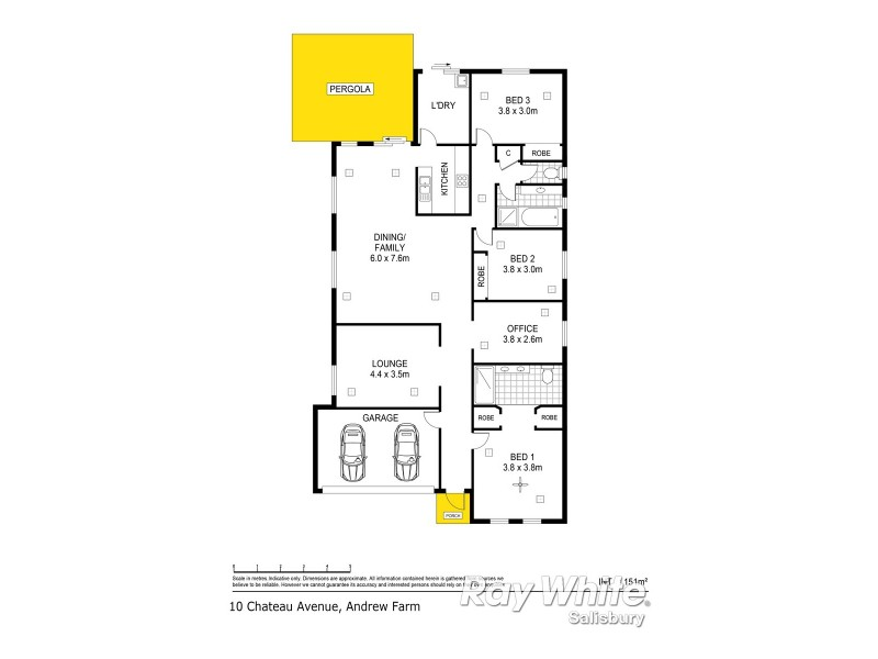 10 Chateau Avenue, Andrews Farm SA 5114 Floorplan