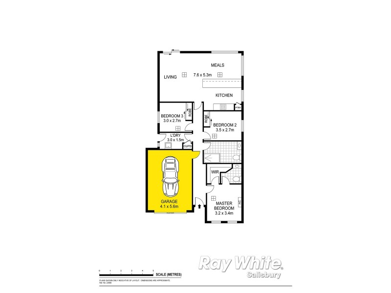 2A Walpole Street, Davoren Park SA 5113 Floorplan