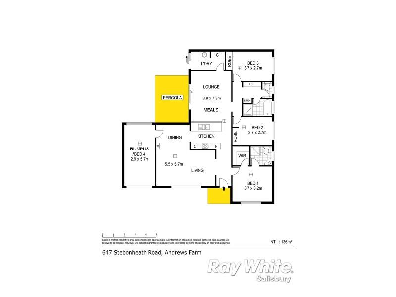647 Stebonheath Road, Andrews Farm SA 5114 Floorplan