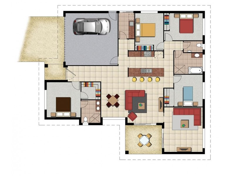 Lot 185 Impala Av, Gracemere QLD 4702 Floorplan