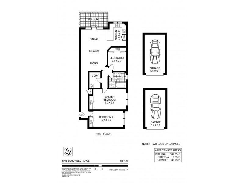 6H/6 Schofield Place, Menai NSW 2234 Floorplan