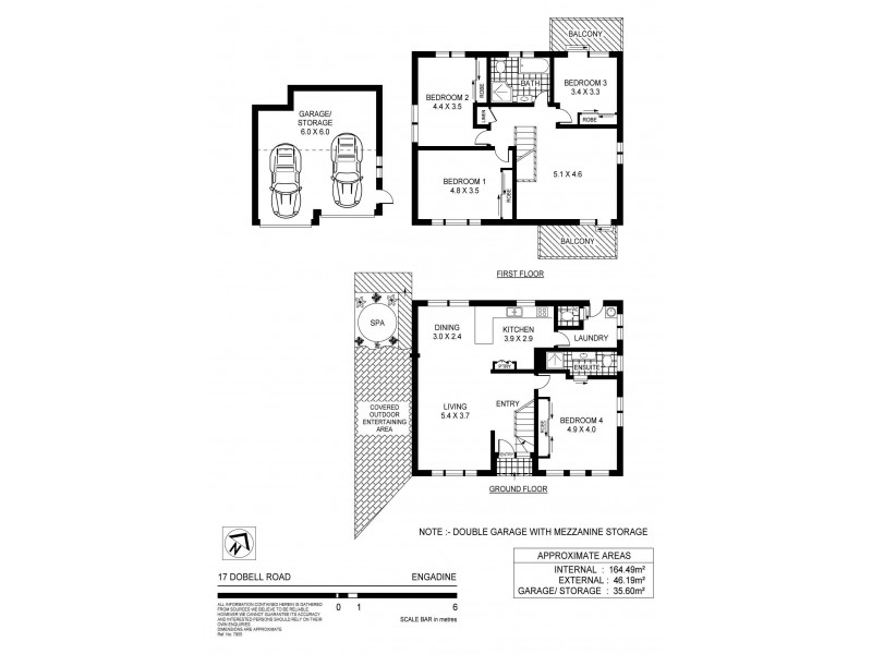 17 Dobell  Road, Engadine NSW 2233 Floorplan