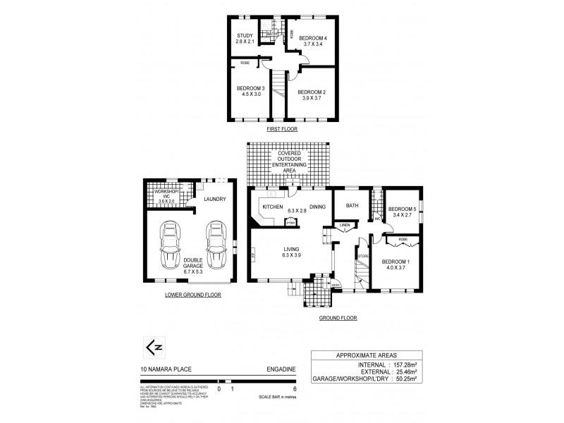 10 Namara Place, Engadine NSW 2233 Floorplan