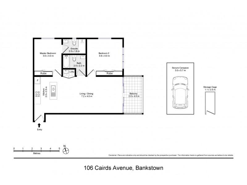 106/26-36 Cairds Avenue, Bankstown NSW 2200 Floorplan