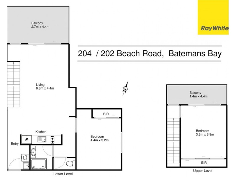 204/202-208 Beach Road, Batehaven NSW 2536 Floorplan