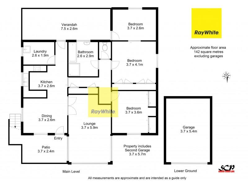13 Lockyersleigh Avenue, Batehaven NSW 2536 Floorplan
