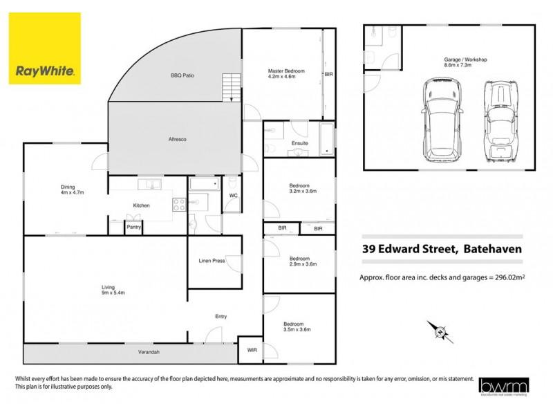 39 Edward Road, Batehaven NSW 2536 Floorplan