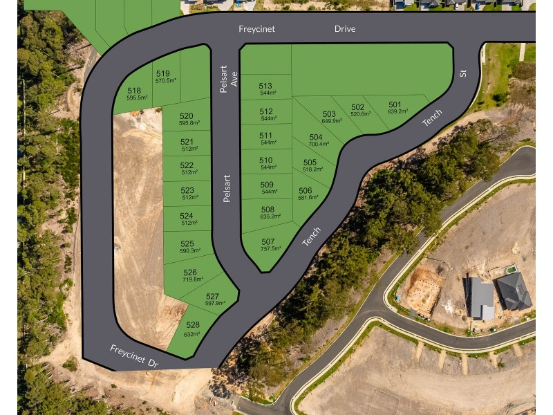 Lot 501 Tench Street, Sunshine Bay NSW 2536