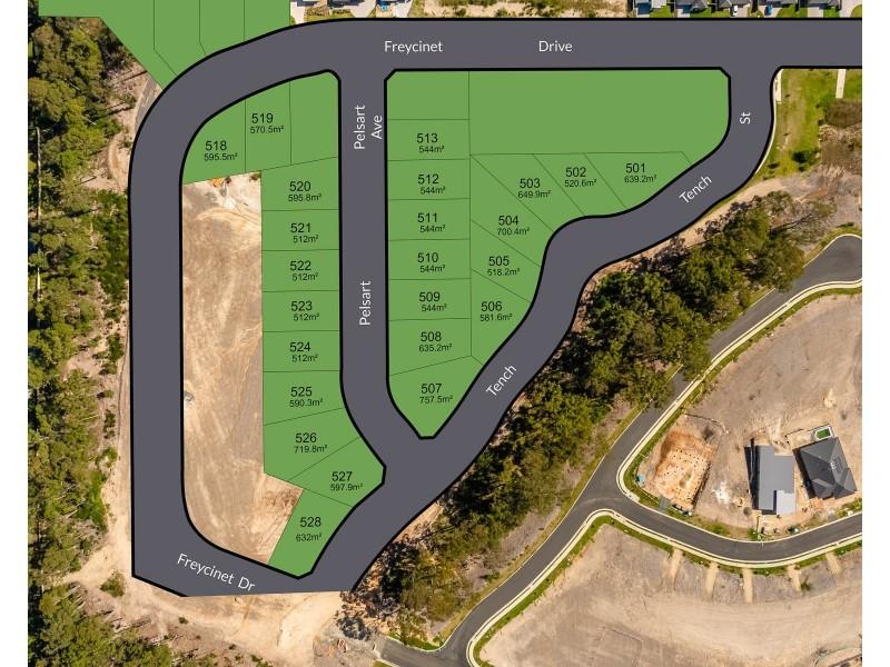 Lot 505 Tench Street, Sunshine Bay NSW 2536