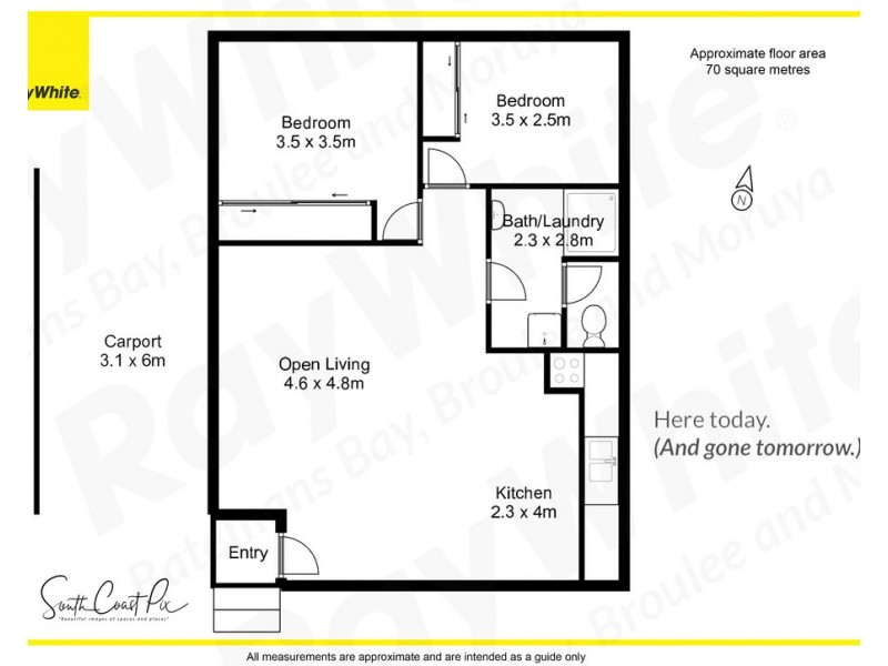 17/15 Crown Street, Batemans Bay NSW 2536 Floorplan