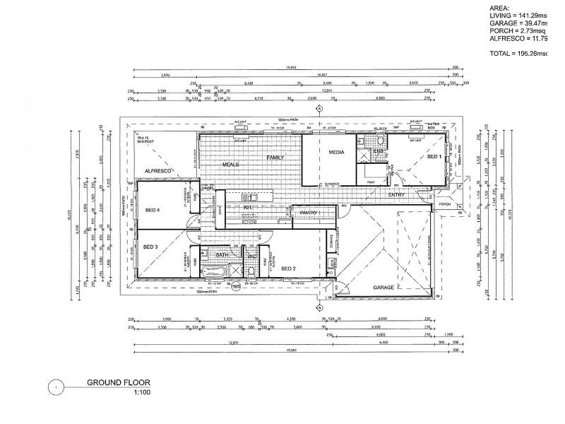 52 Galatea Street, Burpengary QLD 4505 Floorplan