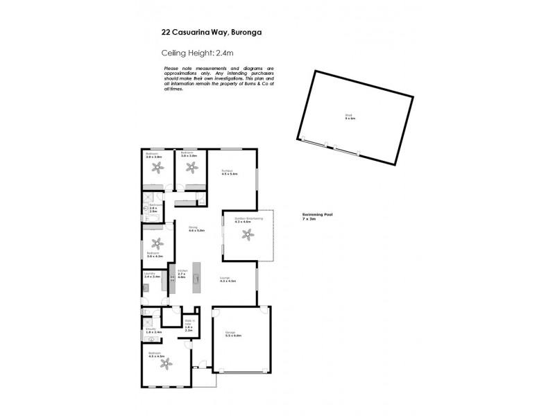 22 Casuarina Way, Buronga NSW 2739 Floorplan