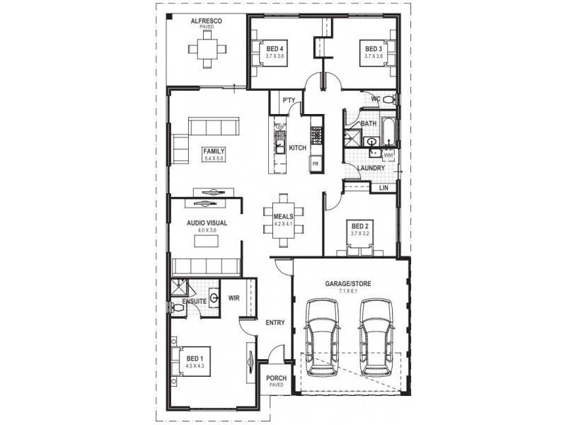 Baldivis WA 6171 Floorplan