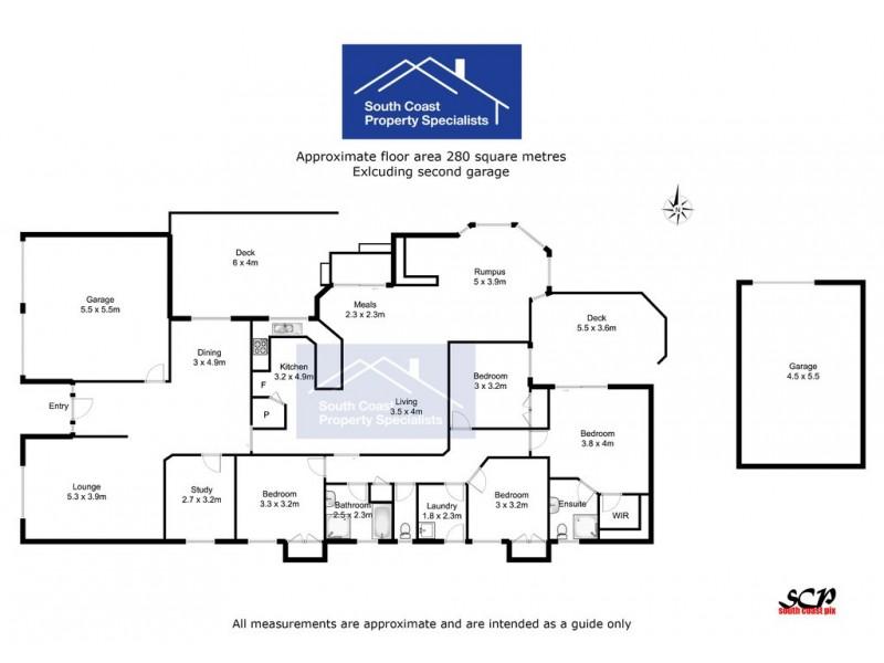 5 Wattlebird Way, Malua Bay NSW 2536 Floorplan