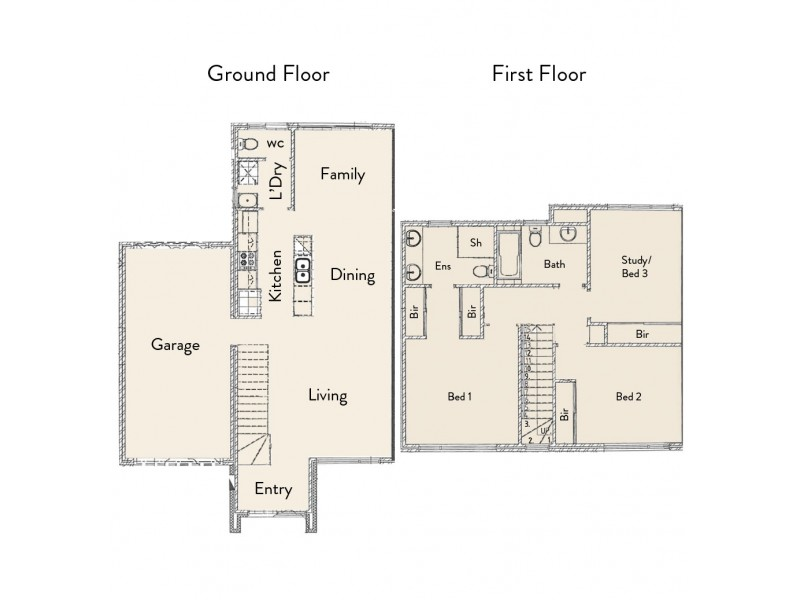 35 Middleton Loop, Meadow Springs WA 6210 Floorplan