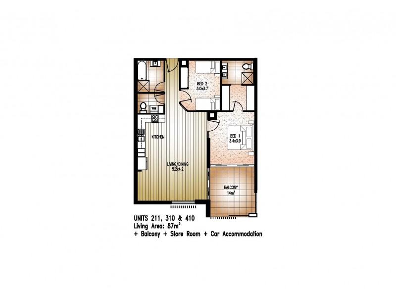 211/81 Sutton Street, Redcliffe QLD 4020 Floorplan