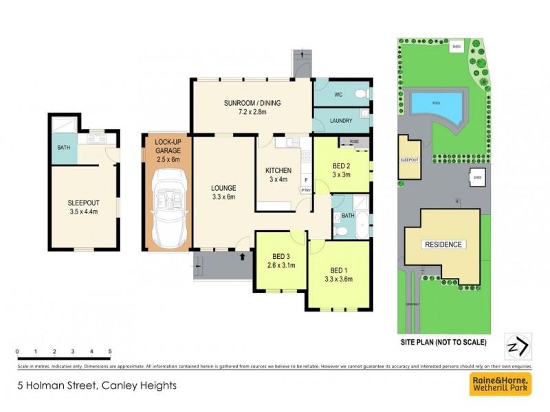 5 Holman Street, Canley Heights NSW 2166 Floorplan