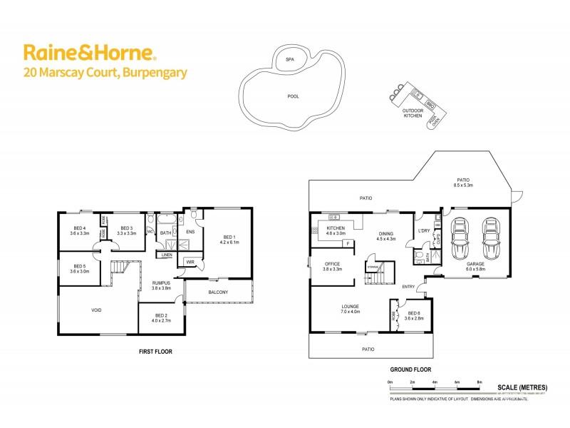 20 MARSCAY COURT, Burpengary QLD 4505 Floorplan