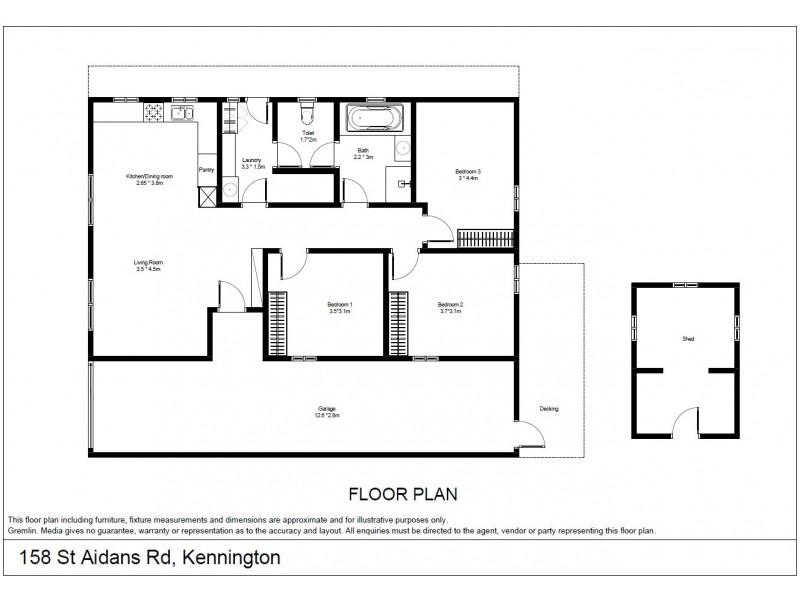 158 St Aidans Road, Kennington VIC 3550