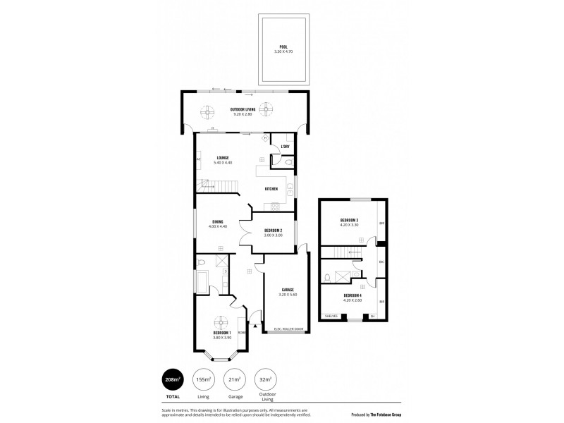 20 Shoalwater Close, Seaford Rise SA 5169 Floorplan