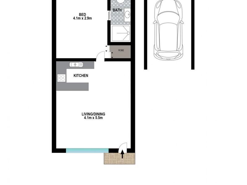 2/41 Norman Street, Wooloowin QLD 4030 Floorplan