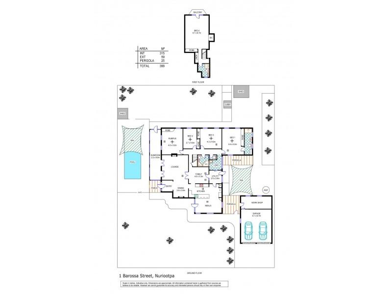 1 Barossa Street, Nuriootpa SA 5355 Floorplan