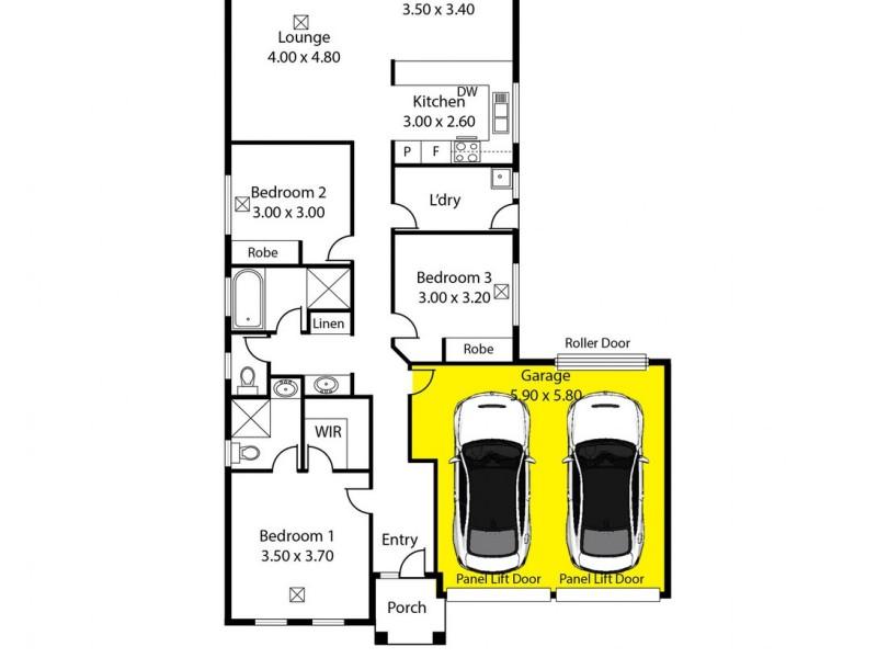 3 McCallum Road, Freeling SA 5372 Floorplan
