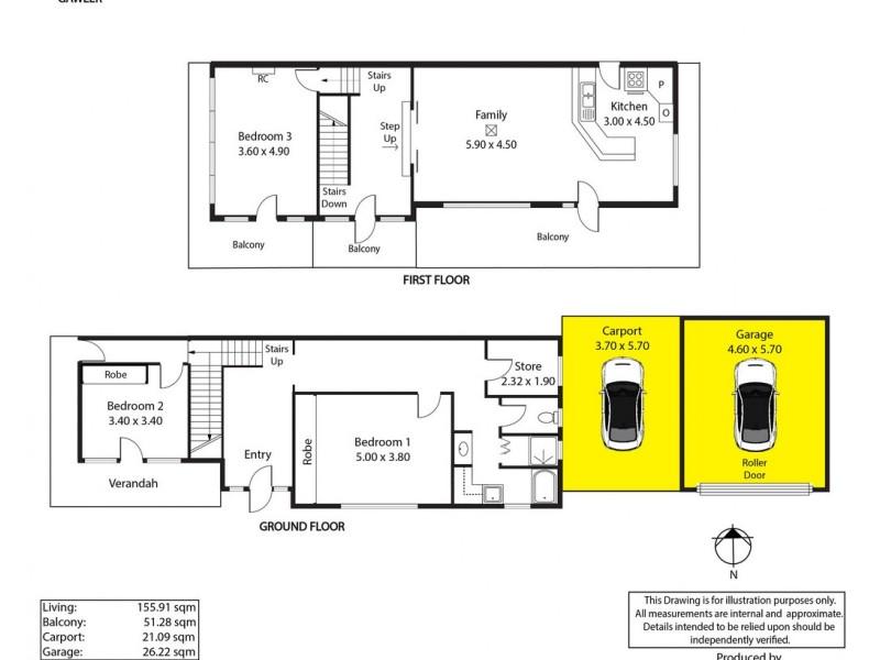 43 Jacob Street, Gawler SA 5118 Floorplan