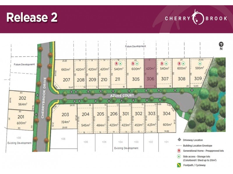 Lot 306 Azure Court, Bentley Park QLD 4869 Floorplan