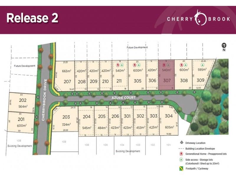 Lot 307 Azure Court, Bentley Park QLD 4869 Floorplan