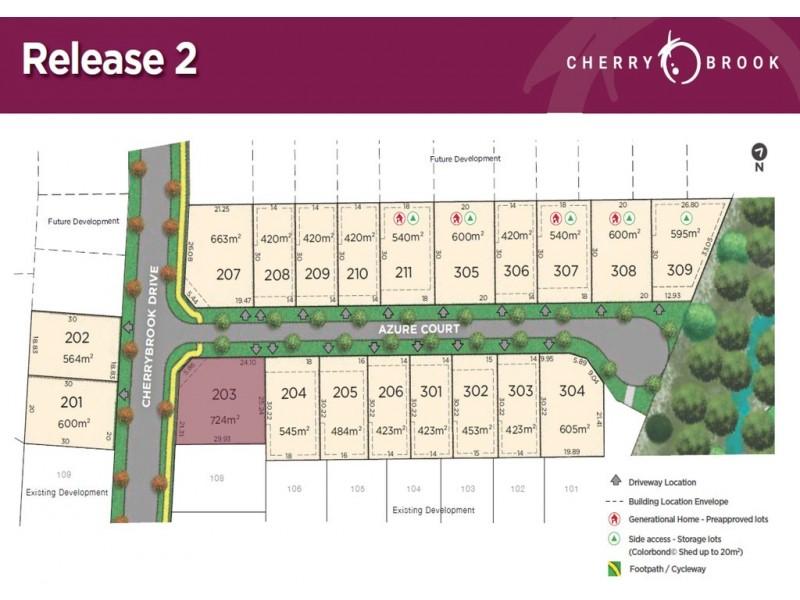 Lot 203 Azure Court, Bentley Park QLD 4869 Floorplan