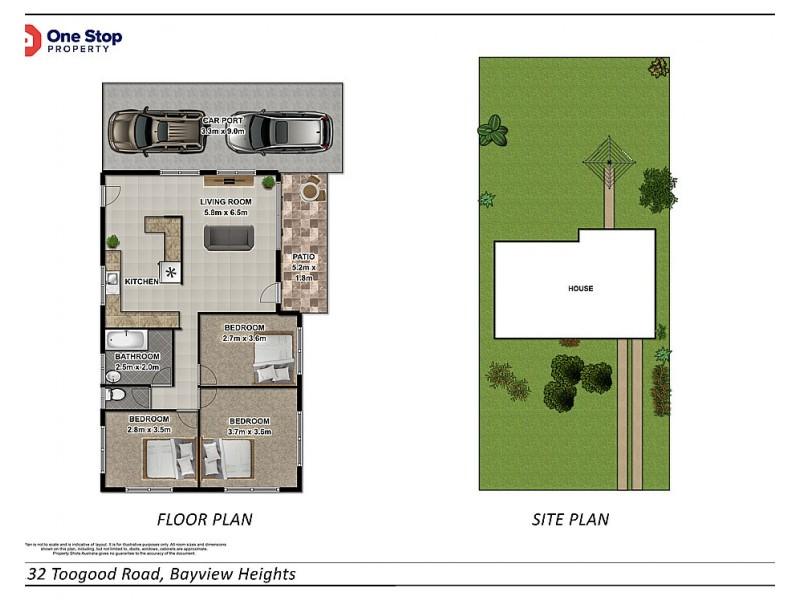132 Toogood Road, Bayview Heights QLD 4868 Floorplan