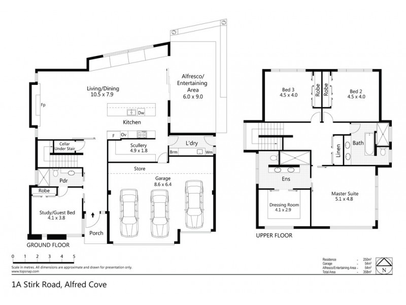 1A Stirk Road, Alfred Cove WA 6154 Floorplan