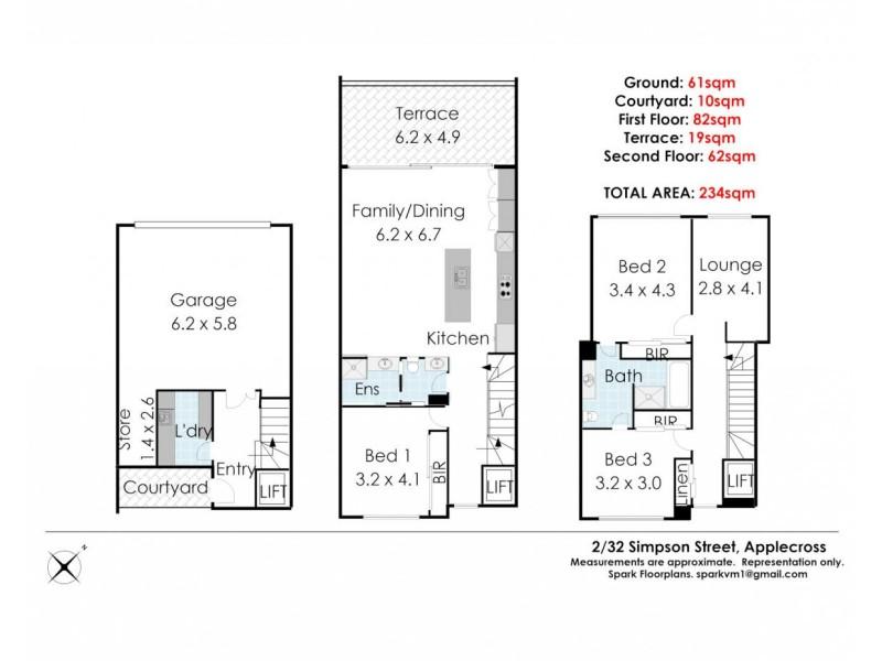 4/32 Simpson St, Applecross WA 6153 Floorplan