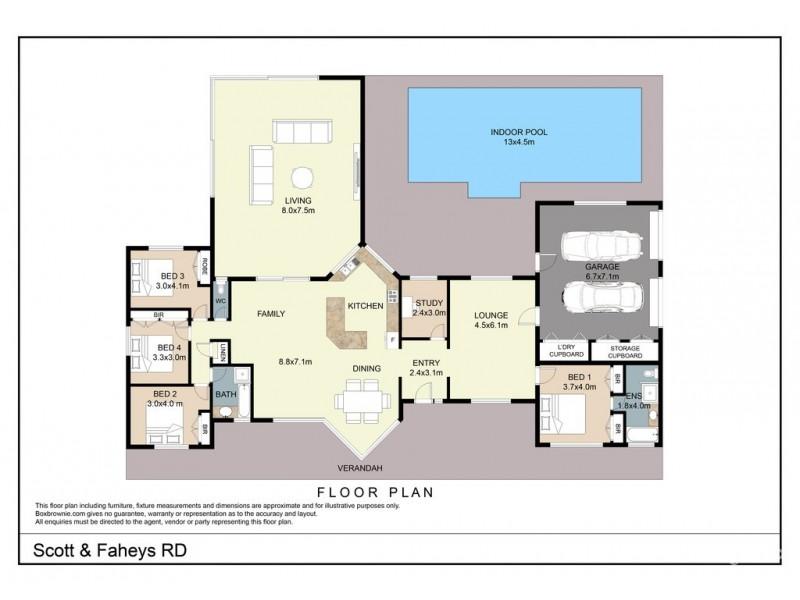 110 Scott and Faheys Road, Korumburra VIC 3950 Floorplan