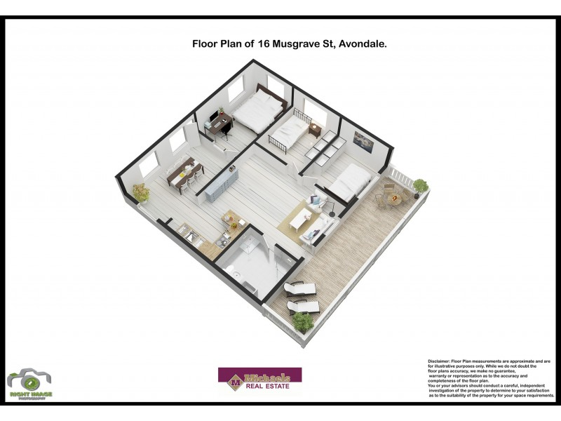 16 Musgrave Street, Avondale QLD 4670 Floorplan